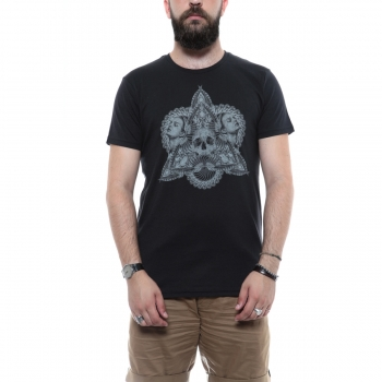 Tobacco And Leatherskull T-Shirt