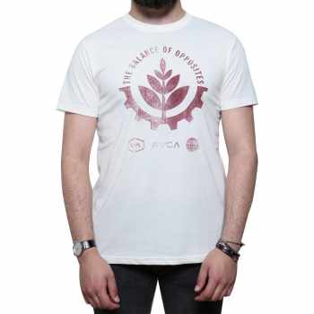 Leaf And Gear Tee