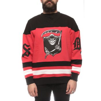 Badge Hockey Crewneck