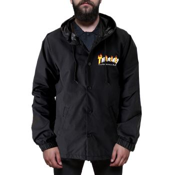 Flame Mag Coach Jacket