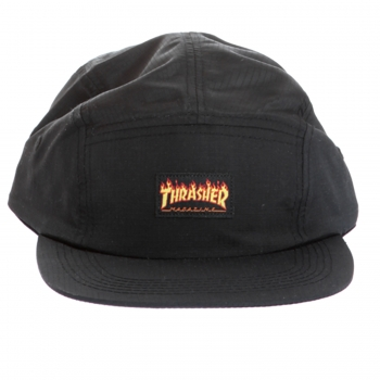 Flame Logo 5 Panel Hat